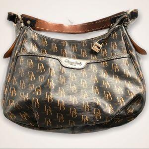 Dooney & Bourke 1975 Logo Shoulder Bag